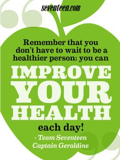 improving health daily