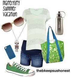 Maternity Summer Vacation Casual Style