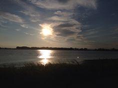 Podersdorf Blitz, Celestial, Sunset, Outdoor, Outdoors, Sunsets, Outdoor Games, The Great Outdoors, The Sunset