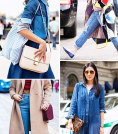 What Wear - Your Denim Street Style Handbook: 52 Looks To Get You Inspired Stockholm Street Style, Spring Fashion Outfits, Fashion Ideas, Fashion Inspiration, Denim Trends, Best Jeans, Street Style Looks, Comfortable Outfits, Everyday Outfits