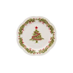 A handmade marketplace for homeware and decor from around the world. Christmas Decorations, Christmas Tree, Holiday Decor, Fruit Plate, Recipe Organization, Plate Sets, Main Colors, Decorative Plates, Artisan