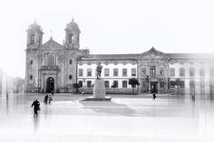 A Praça - Praça Conde de Agrolongo, Braga, Portugal. Conde de Agrolongo Square, Braga, By JJM