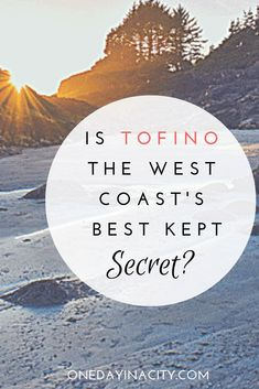 Tofino is located on Vancouver Island in British Columbia, Canada, next to the gorgeous ocean and ruggedly beautiful temperate rain forests. Here's why you should visit and why you'll love it. British Columbia, Columbia Travel, Cool Places To Visit, Places To Travel, Tofino Bc, Beach Trip, Beach Travel, Vancouver Island, Canada Travel