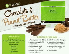 ▶PEANUT BUTTER LOVERS◀ This recipe is for YOU!! Made with It Works! Rich Chocolate ProFIT! These are DELICIOUS!!! For more information: Text/Call 864.477.9934 ✉ Send me a message here ✉ www.wrapitwithpammi.com
