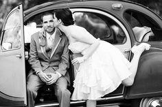 Citroen 2cv Wedding..