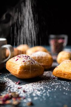 Cardamom Rose Beignets - beignet dough is one of the easiest to make, and while they are fried, they are totally worth the effort! @halfbakedharvest.com