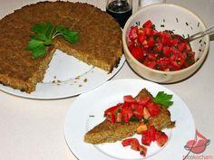 Pasztet warzywny z pomidorową salsą – dieta dr Dąbrowskiej – tocokocham.com Salsa, Diet, Salsa Music