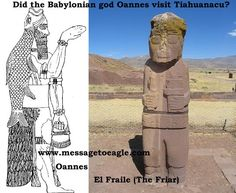 Did The Babylonian Fish-God Oannes Visit Tiahuanacu?
