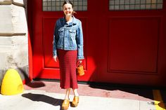 Chelsea Hansford of Simon Miller shows us what to wear this week.