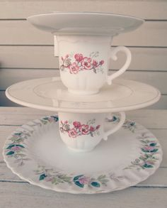 Cupcake and Cake stands for events! (DIY Dessert Stands and shabby chic event decor)