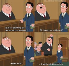 Peanut Butter Jelly Time! Check #7 and other great Family Guy moments. http://dollarsflow.tinycontentbytes.me/15-family-guy-quotes