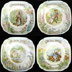 Royal Albert - The World of Beatrix Potter and The Tea Time Collection- Collector Plates www.royalalbertpatterns.com