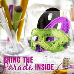 It's #MardiGras! Grab a King Cake and by wayfair