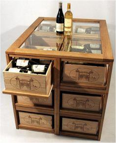 Wine Bottle Chandelier, Small Sitting Rooms, Home Wine Cellars, Wine Tasting Room, Unusual Furniture, Wine Rack Wall, Wine Decor, Vintage Industrial Furniture, Rental Decorating