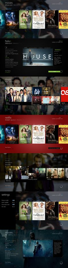 smart tv ui design