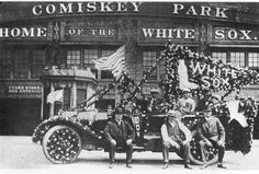 Just because: Serious White Sox fans, opening day 1920 - CBSSports.com
