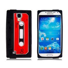 Compact Cassette Black Samsung Galaxy S4 Case
