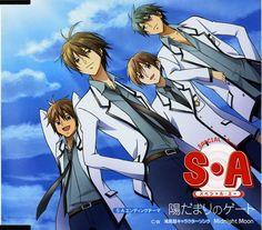 Special A | Maki Minami | AIC and Gonzo / Takishima Kei, Karino Tadashi, Tsuji Ryuu, and Yamamoto Jun