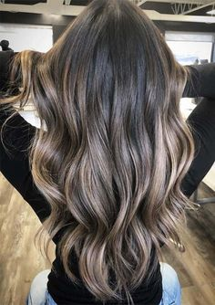 Best brunette hair color shades and highlights for every woman in Here you may find fantastic trends of balayage and brunette hair colors to wear in this year. hair makeup 26 Modern Shades Of Brunette Hair Colors for 2019 Best Brunette Hair Color, Shades Of Brunette, Ash Brunette, Sunkissed Hair Brunette, Light Brunette Hair, Pretty Brunette, Hair Color Balayage, Balayage Hair For Brunettes, Balayage Highlights Brunette