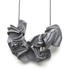 Ruudt Peters Necklace: CORPUS Lumbus 2011 Polyurethane, nylon