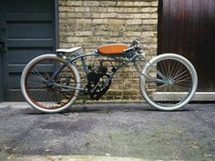 "THUNDERCHIEF # Motorised Bike Board Track Racer ""Tribute Build"""