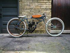 "THUNDERCHIEF # Motorised Bike Board Track Racer ""Tribute Build"""