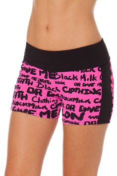 Highlighter Pink Smackdowns - LIMITED by Black Milk Clothing $50AUD