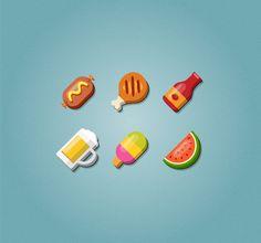 Cómo crear un conjunto de iconos de alimentos en Adobe Illustrator
