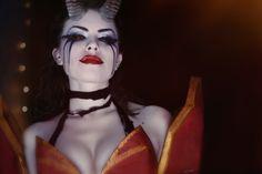 Dota 2 - Queen of pain by MilliganVick on deviantART
