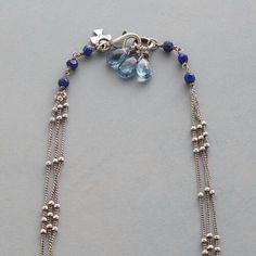 INFINITE BLUE NECKLACE: View 3