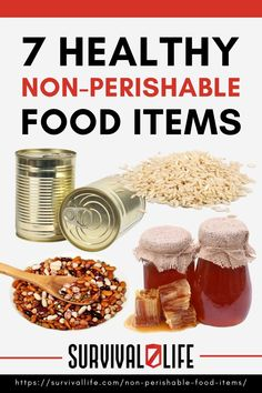 When it comes to stocking up your prepper's pantry, you'd want to make sure you have food that doesn't expire quickly. Below are some non perishable food items you should stock up on. And take note, they're healthy, too! #nonperishablefood #longlastingfood #prepperpantry #survivalfood #survivaltips #survival #preparedness #survivallife Food Storage Organization, Food Storage Containers, Non Perishable Food Items, Long Term Food Storage, Starting A Vegetable Garden, Canned Coconut Milk, Dried Beans, Survival Food, Lean Protein