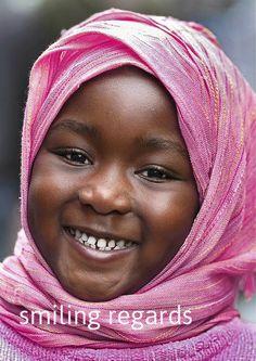 smiling is international