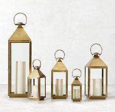 Cardiff Lantern - Brass