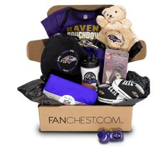 Baltimore Ravens Baby Box | Ravens Onesies, Baby Gear & More! • FANCHEST