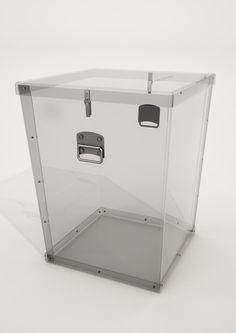 Urna wyborcza (przenośna) dla obwodów głosowania w zakładach opieki zdrowotnej i w domach pomocy społecznej. http://urnywyborcze.co.pl/