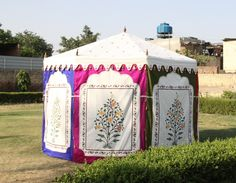 This one is for me, the Arabian nights tents