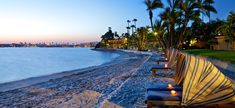 San Diego Bahia beach resort.