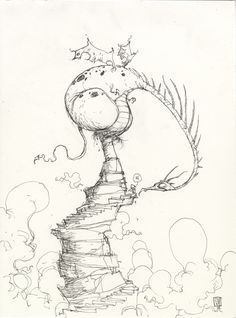 Skottie Young illustration of a dragon! Happy year of the dragon all.
