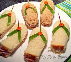 My Recipe Journey: Flip Flop Sandwiches!