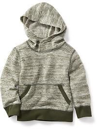 French Terry Hooded Pullover