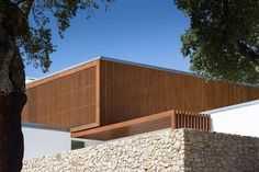 Quinta Dos Pombais House - Picture gallery #architecture #interiordesign #stone #wood #facade