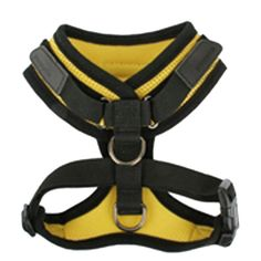 Superior Soft Harness by Puppia - Yellow at BaxterBoo