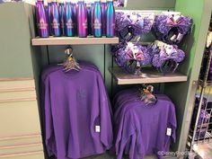 Spirit Jerseys, Loungefly Bags, Cake Pops, and More Are Popping Up in Potion Purple Tinkerbell Disney, Cute Disney, Disney Girls, Disney World Merchandise, Disney Character Outfits, Disney Outfits, Disney Clothes, Spirit Jersey, Disneyland Birthday
