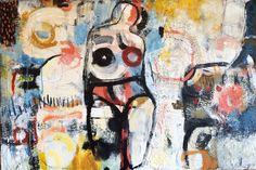"Saatchi Art Artist Magdalena Krzak; Painting, ""Bikini Body"" #art"