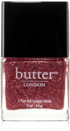butter LONDON Nail Lacquer, Red Shades, Rosie Lee: Beauty
