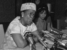 Ella Baker, one of the unsung women in Black history.