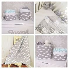 "56 Likes, 1 Comments - ⭐️ Twinkle Twinkle Babies ⭐️ (@twinkletwinklebabies) on Instagram: ""Our grey clouds range is all handmade to order and includes patchwork quilts, blankets and bumpers,…"""