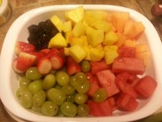 Yummy fresh fruit. Meal prep day for caudill house