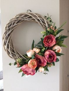 Spring Wreaths for Front Door, Mother Wreath Crafts, Diy Wreath, Grapevine Wreath, Monogram Wreath, Wreaths For Front Door, Door Wreaths, Easter Wreaths, Christmas Wreaths, Summer Wreath