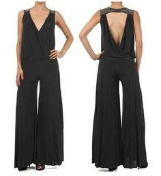 enteritos de fiesta para mujer - Buscar con Google Jumpsuit Elegante, Palazzo Style, Playsuits, Jumpsuits, Diana, Wide Leg, Rompers, Womens Fashion, How To Wear